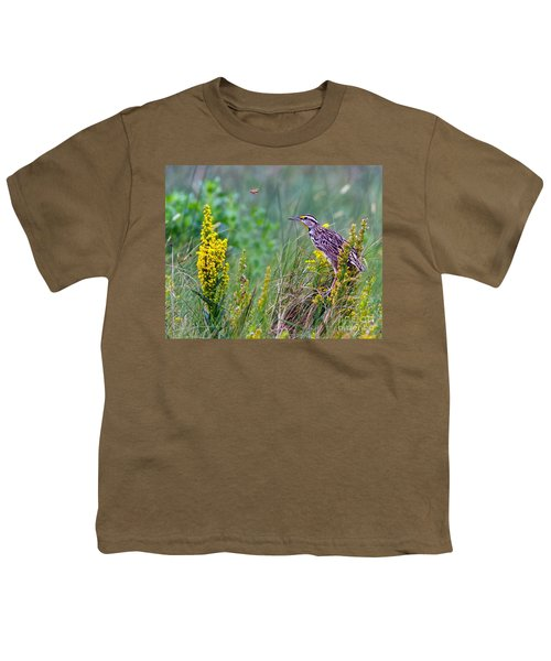 A Golden Opportunity Youth T-Shirt by Gary Holmes