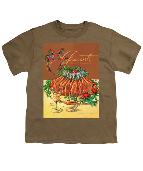 A Gourmet Cover Of Chicken Youth T-Shirt