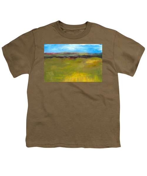 Abstract Landscape - The Highway Series Youth T-Shirt