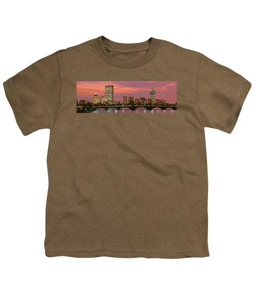 Back Bay, Boston, Massachusetts, Usa Youth T-Shirt