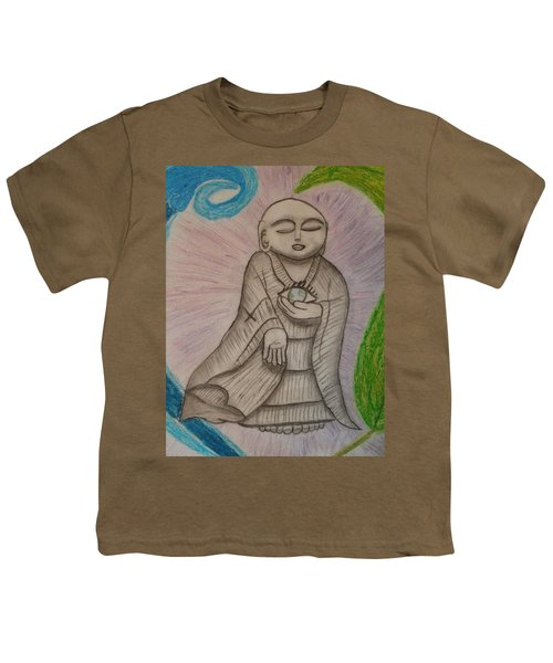 Buddha And The Eye Of The World Youth T-Shirt