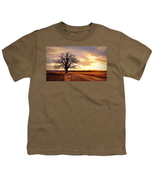 Burr Oak Silhouette Youth T-Shirt