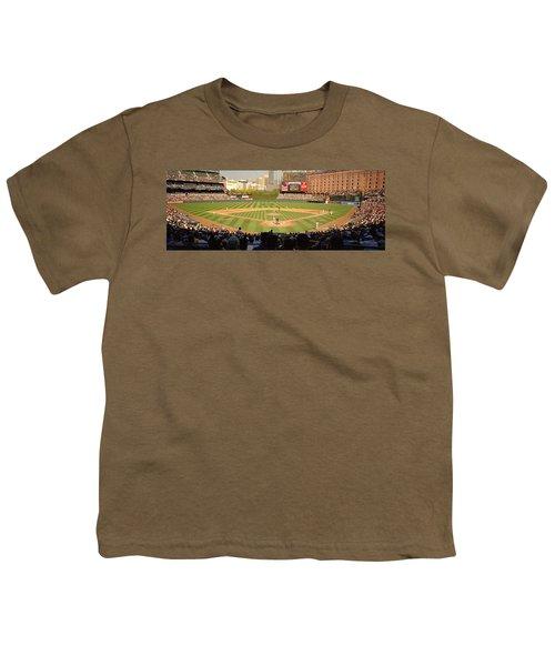 Camden Yards Baseball Game Baltimore Youth T-Shirt