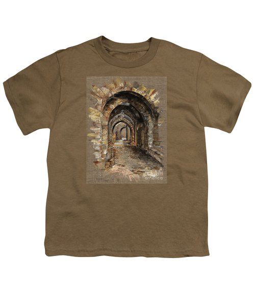 Camelot -  The Way To Ancient Times - Elena Yakubovich Youth T-Shirt