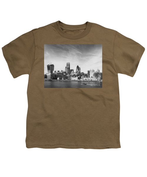 City Of London  Youth T-Shirt by Pixel Chimp