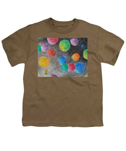 Colorful Orbs Youth T-Shirt