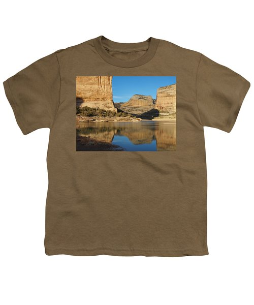 Echo Park In Dinosaur National Monument Youth T-Shirt