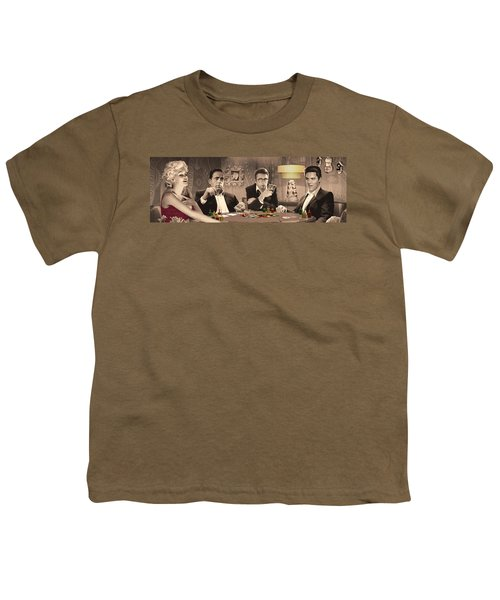 Four Of A Kind Youth T-Shirt by Chris Consani