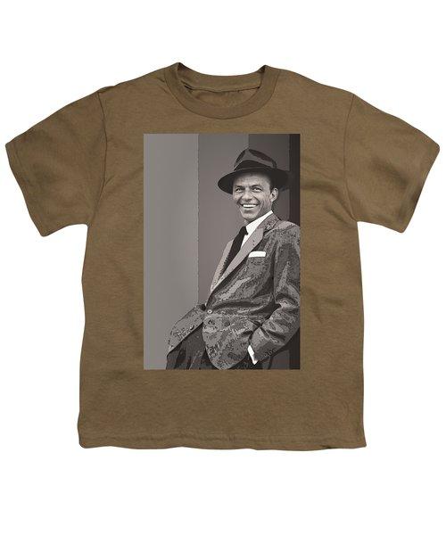 Frank Sinatra Youth T-Shirt by Daniel Hagerman