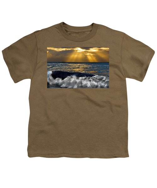 Golden Eye Of The Morning Youth T-Shirt