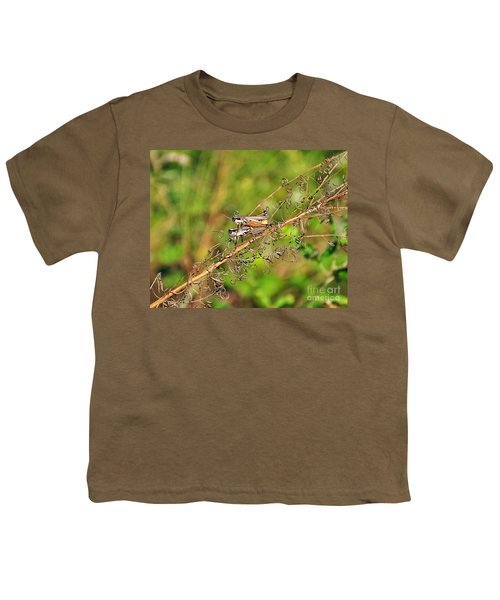 Gregarious Grasshoppers Youth T-Shirt