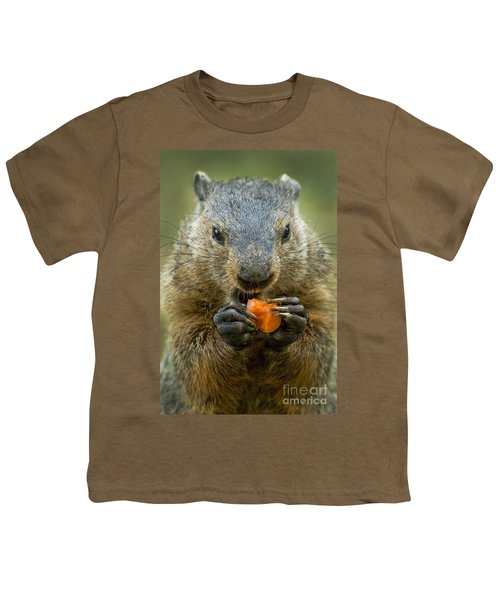 Groundhogs Favorite Snack Youth T-Shirt by Paul W Faust -  Impressions of Light