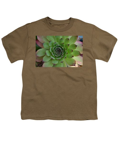 Houseleek Sempervivum Youth T-Shirt