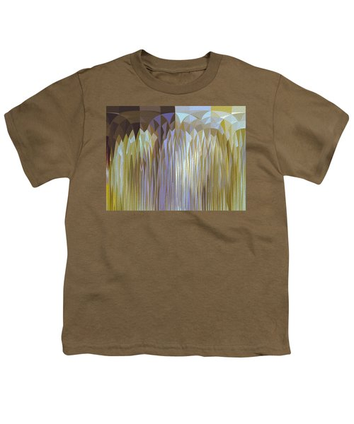Youth T-Shirt featuring the digital art Icy Blast by Mihaela Stancu