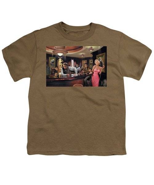 Java Dreams Youth T-Shirt by Chris Consani