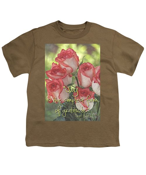 Joyful Gratitude Youth T-Shirt