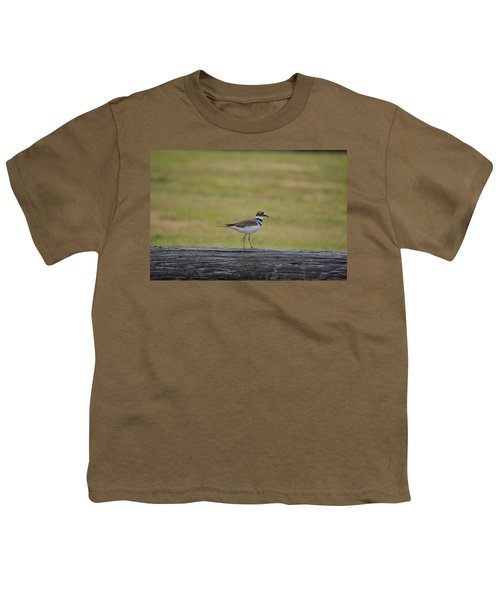 Killdeer Youth T-Shirt by James Petersen