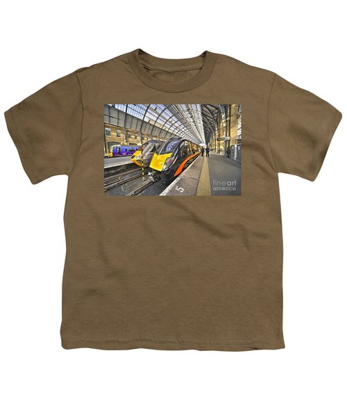 Kings Cross Variety  Youth T-Shirt by Rob Hawkins