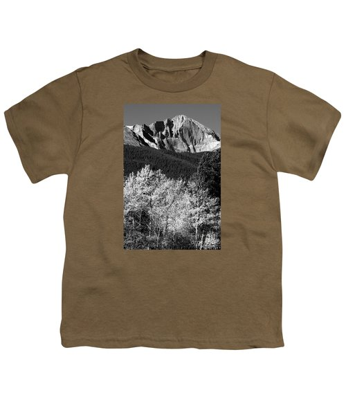 Longs Peak 14256 Ft Youth T-Shirt by James BO  Insogna