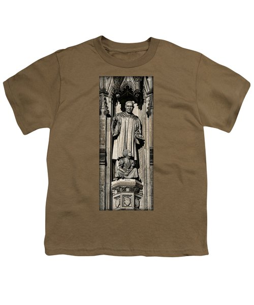 Mlk Memorial Youth T-Shirt by Stephen Stookey