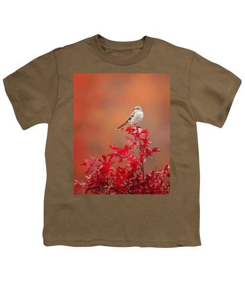 Mockingbird Autumn Youth T-Shirt by Bill Wakeley