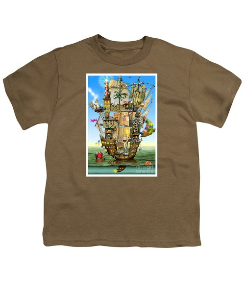 Norah's Ark Youth T-Shirt by Colin Thompson