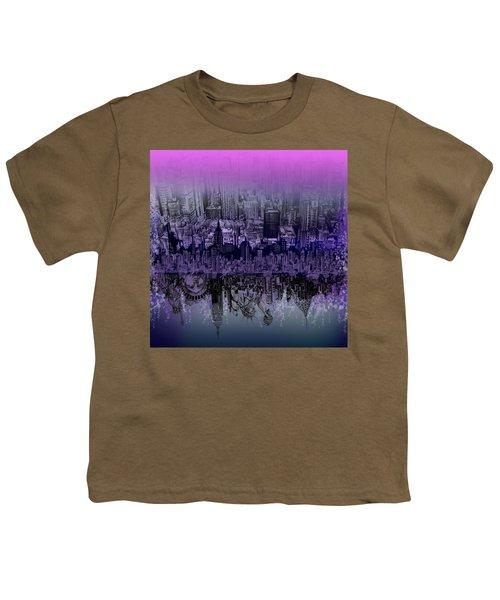 Nyc Tribute Skyline Youth T-Shirt