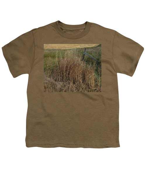 Old Fence Line Youth T-Shirt