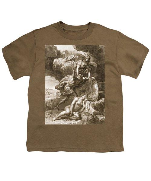 Perseus Cuts Off Medusas Head, 1731 Youth T-Shirt