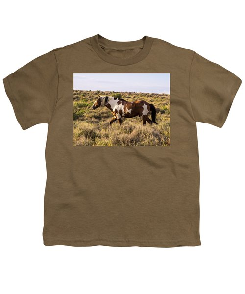 Picasso - King Of Sand Wash Basin Youth T-Shirt