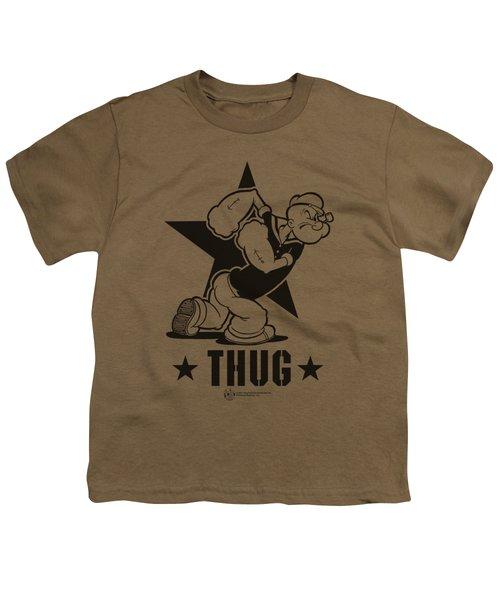 Popeye - Thug Youth T-Shirt by Brand A