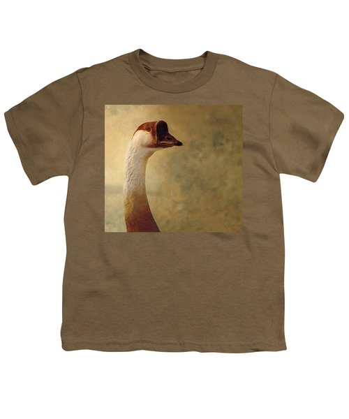 Portrait Of A Goose Youth T-Shirt