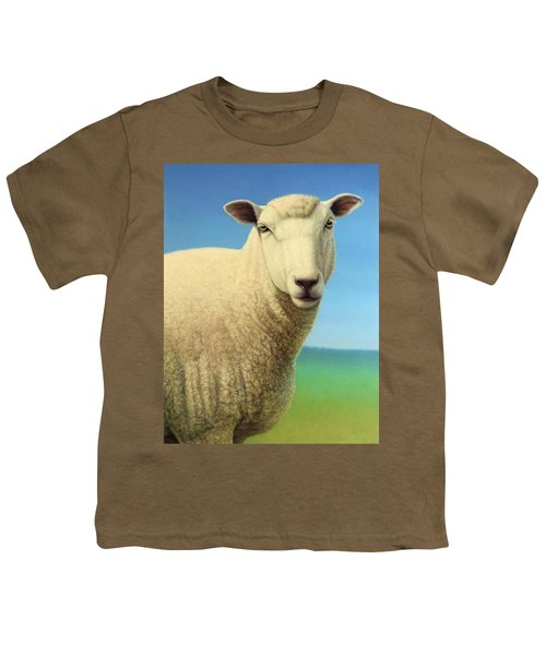 Portrait Of A Sheep Youth T-Shirt