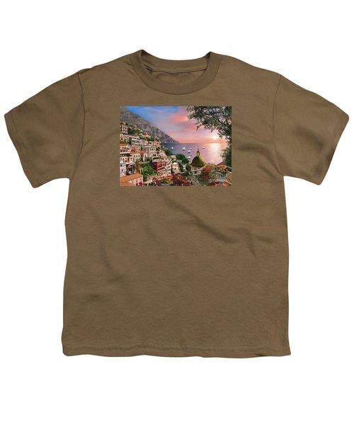 Positano Youth T-Shirt by Dominic Davison