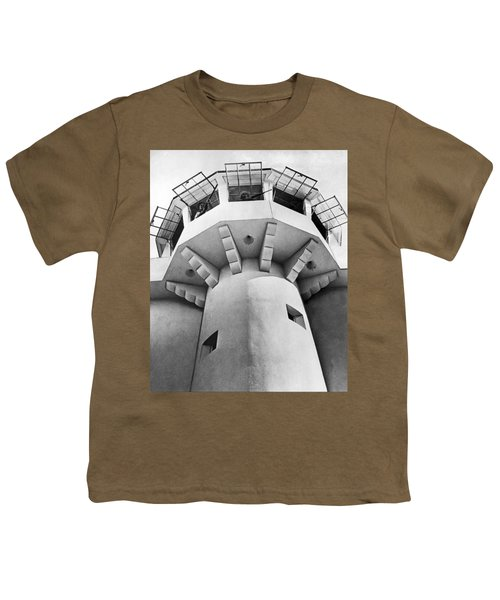 Prison Guard Tower Youth T-Shirt by Underwood Archives