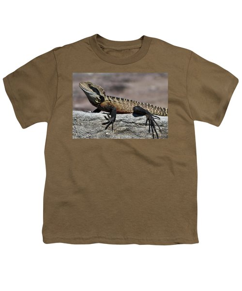 Youth T-Shirt featuring the photograph Profile Of A Waterdragon by Miroslava Jurcik