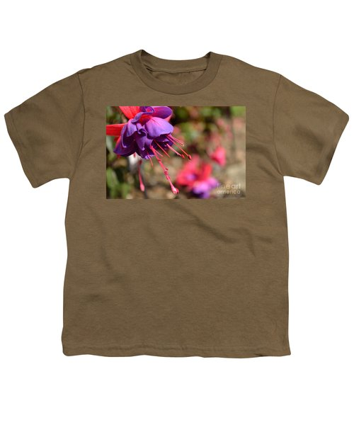 Purple Fuchsia Youth T-Shirt