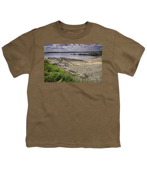Youth T-Shirt featuring the photograph Quiet Cove by Mark Myhaver