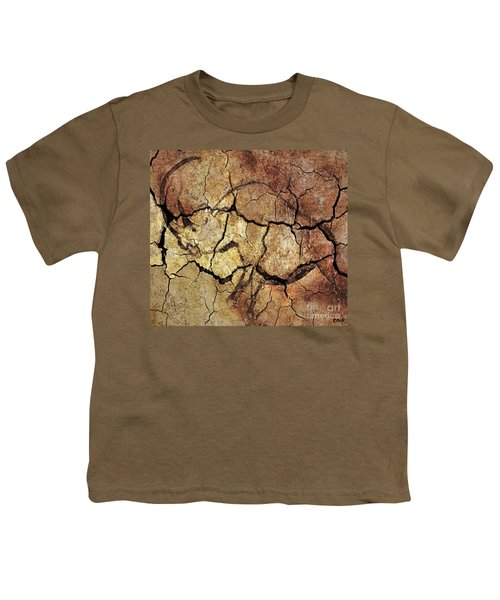 Rhinoceros From Chauve Cave Youth T-Shirt
