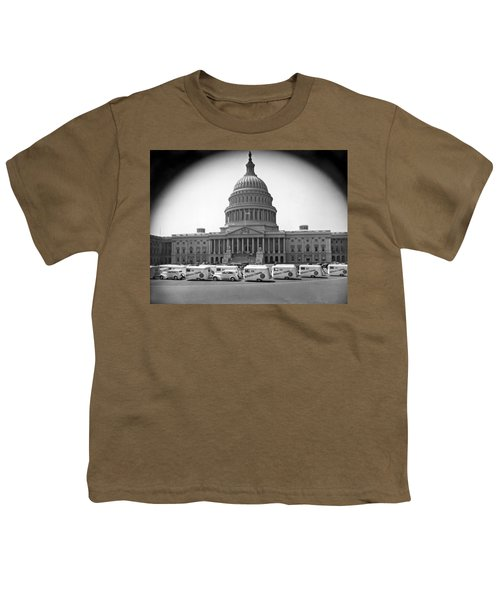 Roosevelt Caravan Trailers Youth T-Shirt