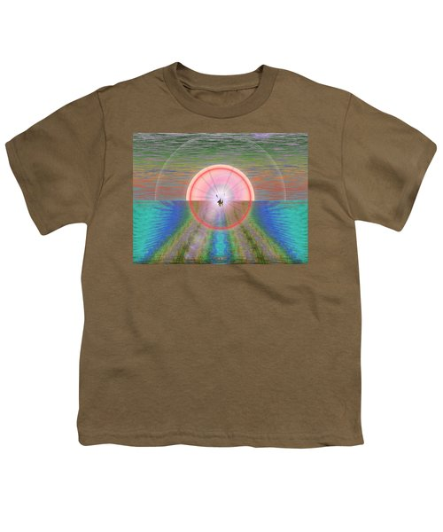 Sailors Warning Youth T-Shirt by Tim Allen