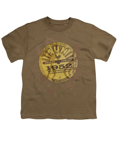 Sun - Logo Music Youth T-Shirt by Brand A