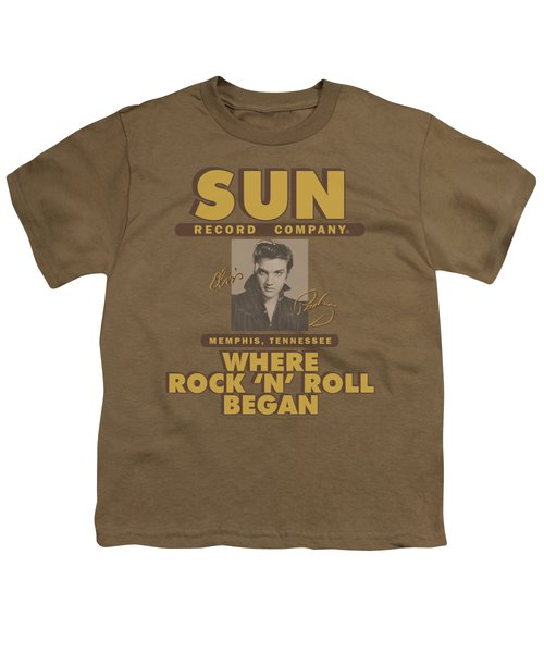Sun - Sun Ad Youth T-Shirt by Brand A