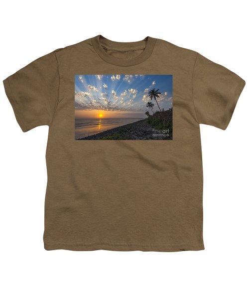 Sunset At Alibag, Alibag, 2007 Youth T-Shirt