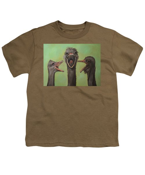 The 3 Tenors Youth T-Shirt by Leah Saulnier The Painting Maniac