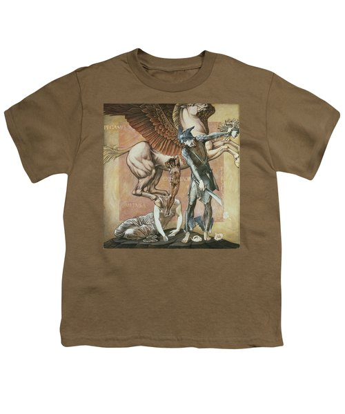 The Death Of Medusa I, C.1876 Youth T-Shirt by Sir Edward Coley Burne-Jones