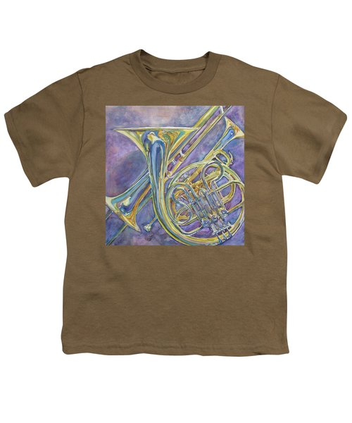 Three Horns Youth T-Shirt