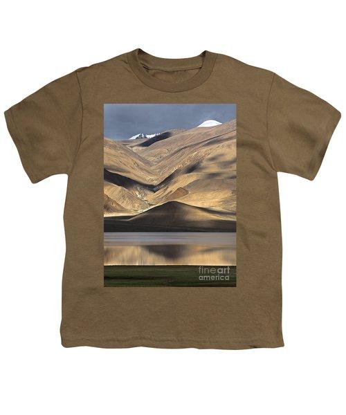 Golden Light Tso Moriri, Karzok, 2006 Youth T-Shirt by Hitendra SINKAR
