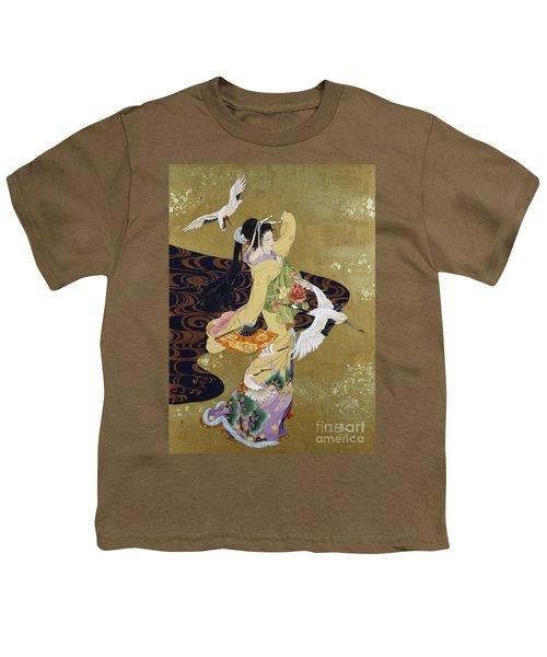 Tsuru No Mai Youth T-Shirt by Haruyo Morita