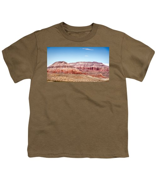 Two Layered Mountains Youth T-Shirt